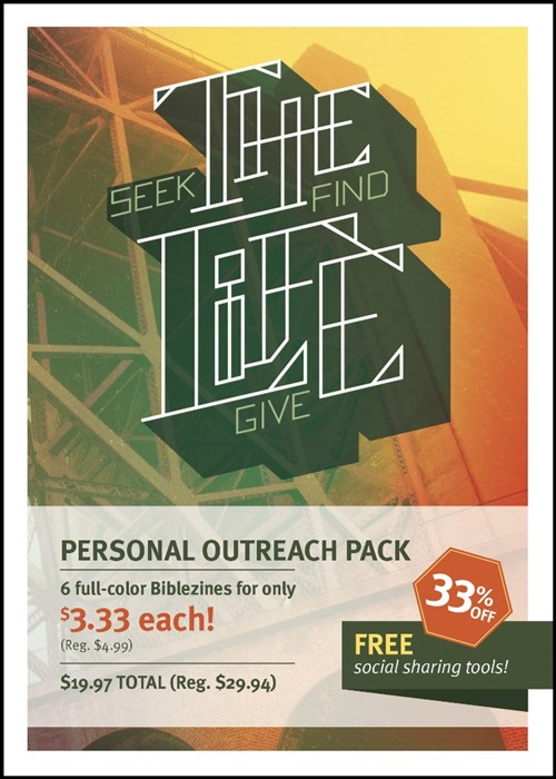 The Life Personal Outreach 6-Pack (General Merchandise)