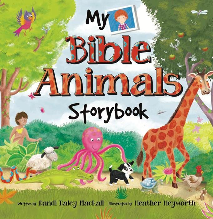 My Bible Animals Storybook (Paperback)