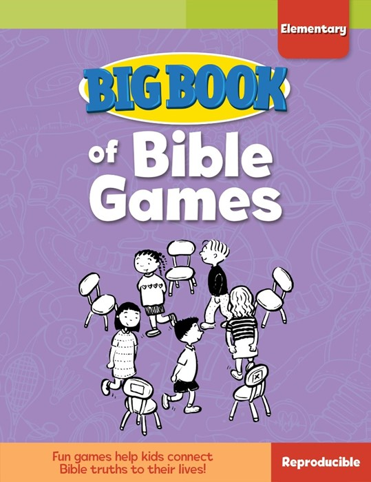 Big Book of Bible Games for Elementary Kids (Paperback)