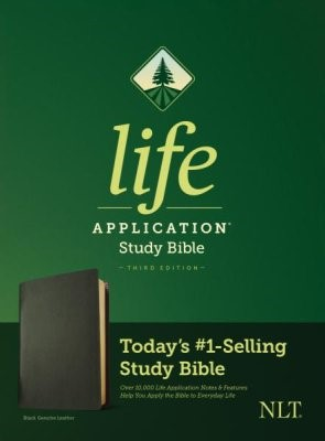 NLT Life Application Study Bible, Third Edition (Genuine Leather)