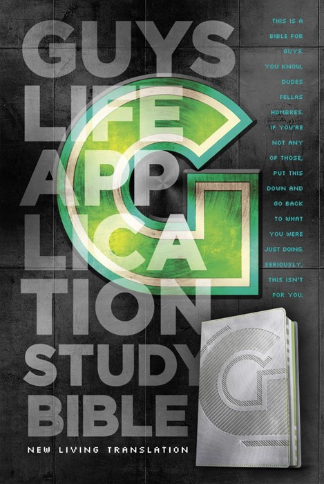 NLT Guys Life Application Study Bible (Imitation Leather)