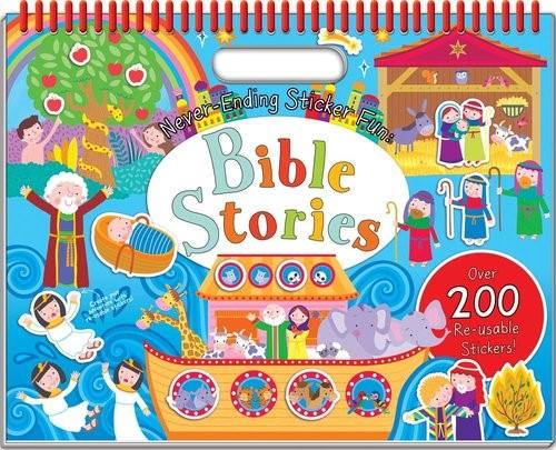 Bible Never-Ending Sticker Fun! Volume 2 (Spiral Bound)