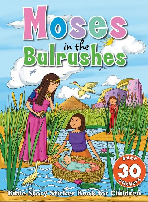 Bible Story Sticker Book for Children Moses in the Bulrushes (Paperback)
