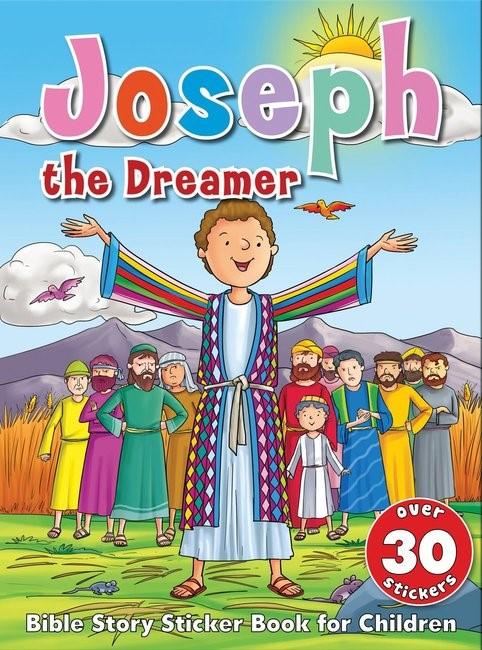 Bible Story Sticker Book for Children: Joseph the Dreamer (Paperback)