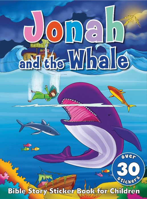 Bible Story Sticker Book for Children: Jonah and the Whale (Paperback)