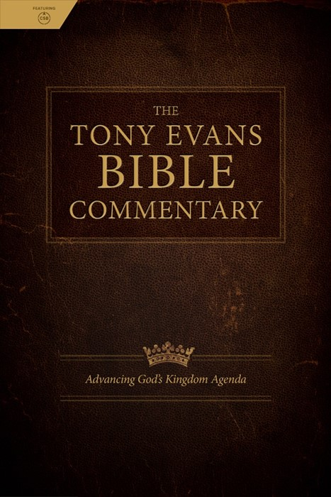 The Tony Evans Bible Commentary (Hard Cover)
