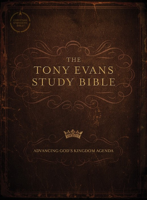 CSB Tony Evans Study Bible, Hardcover (Hard Cover)