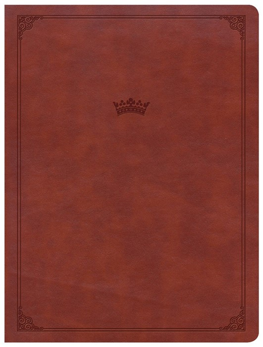CSB Tony Evans Study Bible, British Tan LeatherTouch (Imitation Leather)
