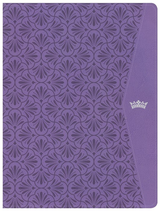 CSB Tony Evans Study Bible, Purple LeatherTouch, Indexed (Imitation Leather)