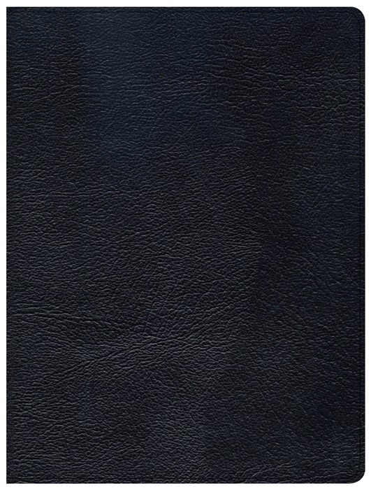 CSB Tony Evans Study Bible, Black Genuine Leather, Indexed (Genuine Leather)