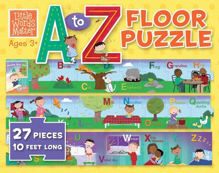 Little Words Matter A to Z Floor Puzzle (General Merchandise)