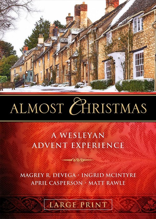 Almost Christmas - [Large Print] (Paperback)