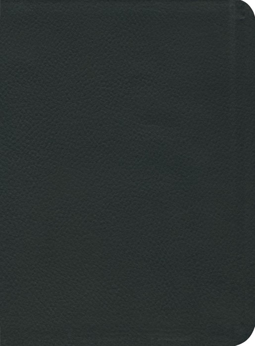 ESV Reformation Study Bible, Black, Seville Cowhide (Genuine Leather)
