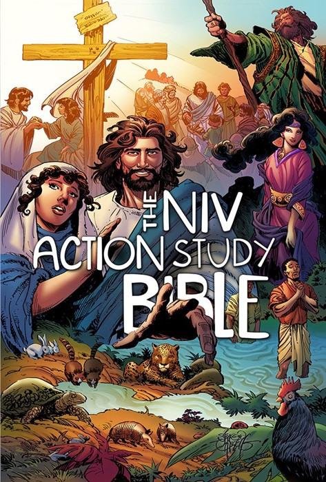 The NIV Action Study Bible (Hard Cover)