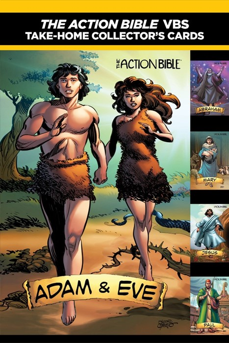 The Action Bible Take-Home Collector's Cards (Cards)