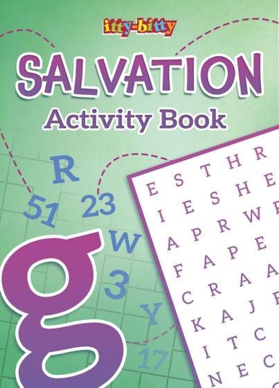 Itty Bitty: Salvation Activity Book (Paperback)