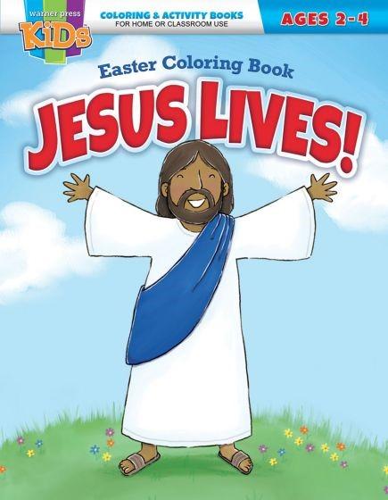 Jesus Lives! Easter Coloring Book (Paperback)
