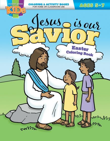 Jesus is Our Savior Easter Coloring Book (Paperback)