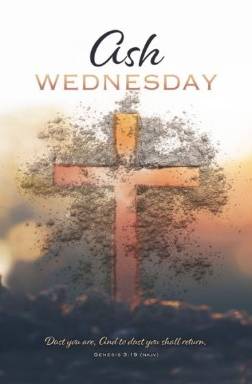 Ash Wednesday Bulletin (Pack of 100) (Bulletin)