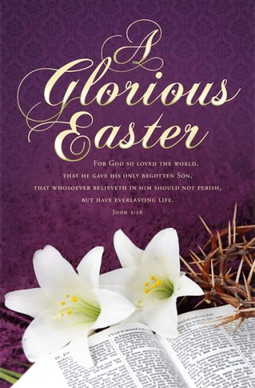 Glorious Easter Bulletin (Pack of 100), A (Bulletin)