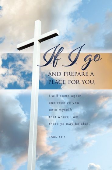 I prepare a Place Funeral Bulletin (Pack of 100) (Bulletin)