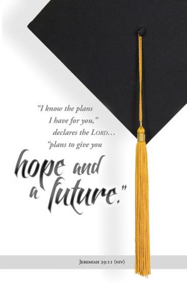 I Know the Plans Graduation Bulletin (Pack of 100) (Bulletin)