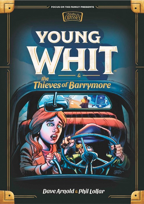 Young Whit and the Thieves of Barrymore (Hard Cover)