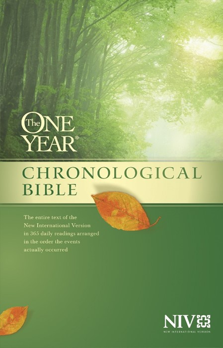 The NIV One Year Chronological Bible (Hard Cover)