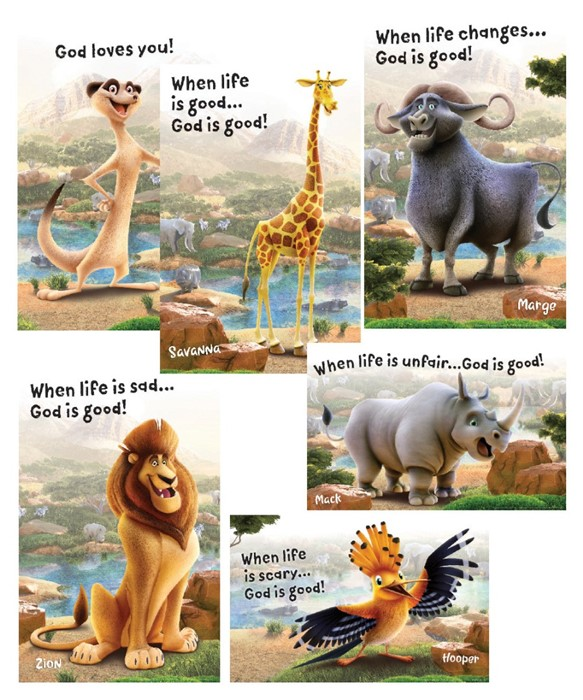 Bible Point Posters (Set of 6)