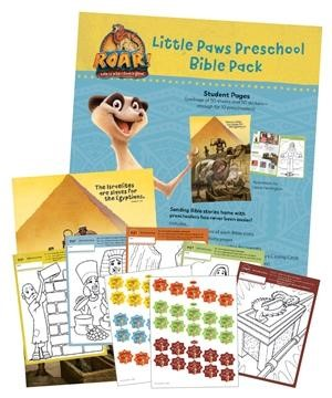 Little Paws Preschool Bible Pack (Kit)