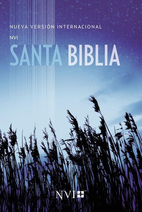 Santa Biblia NVI, Edición Misionera, Color Azul Trigo (Paperback)