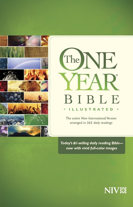 The NIV One Year Bible Illustrated (Paperback)