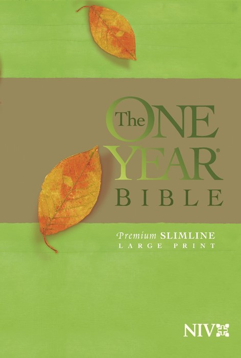 The NIV One Year Bible Premium Slimline Large Print (Paperback)