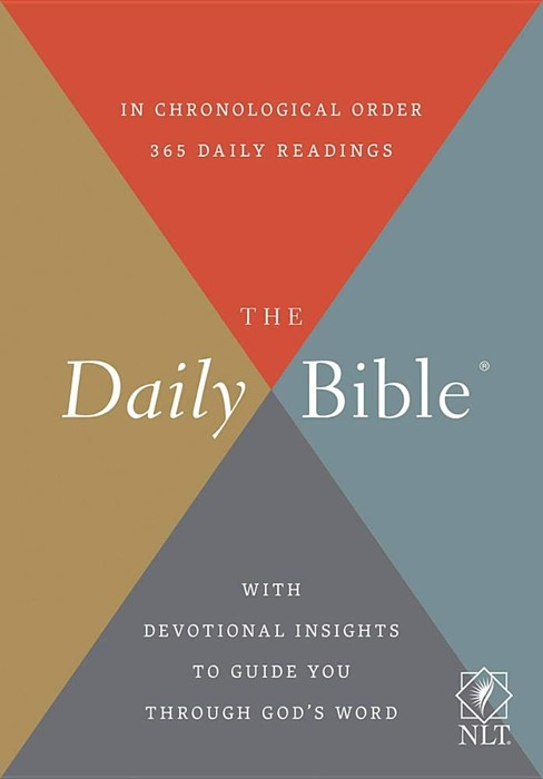 NLT Daily Bible (Imitation Leather)