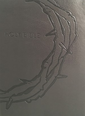 KJV Sword Study Bible, Giant Print, Charcoal, Indexed (Imitation Leather)