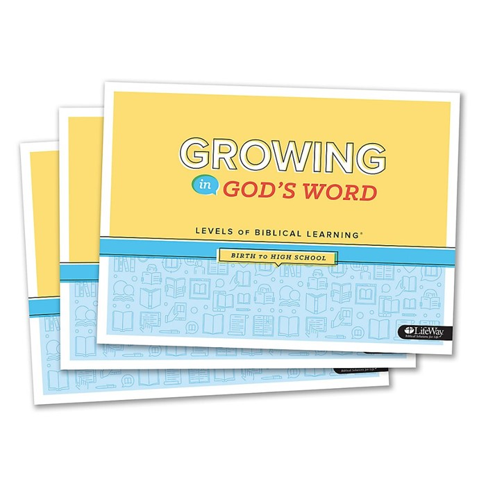 Growing in God's Word (Pack of 10) (Paperback)