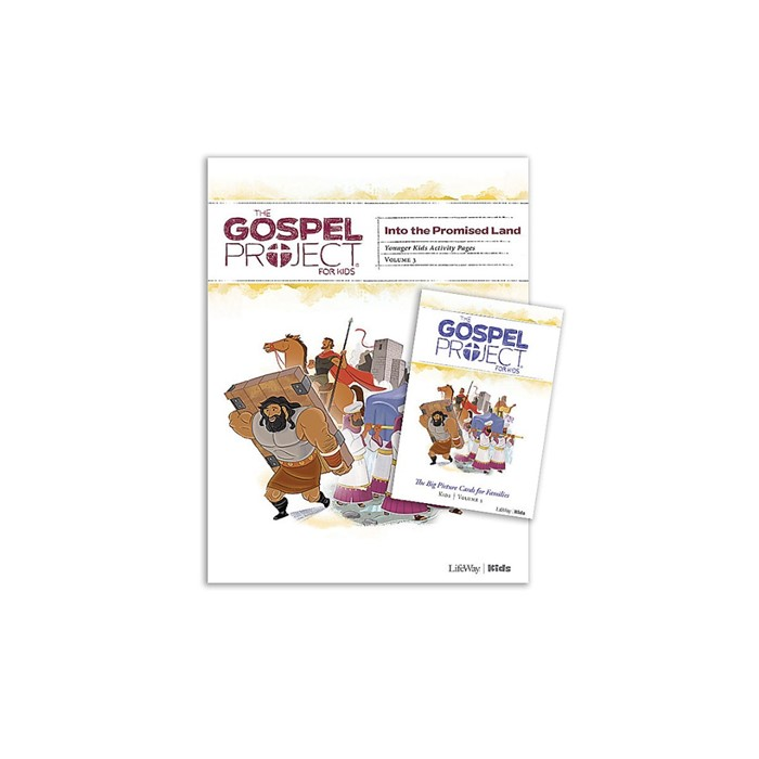 Gospel Project: Younger Kids Activity Pack, Spring 2019 (Kit)