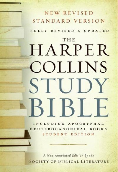 Harper Collins Study Bible, Student Edition (Paperback)
