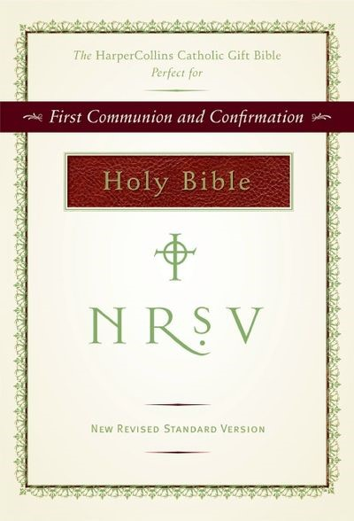 NRSV Catholic Gift Bible, Burgundy (Hard Cover)