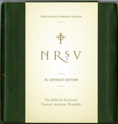 NRSV XLarge Catholic Bible, Green (Hard Cover)