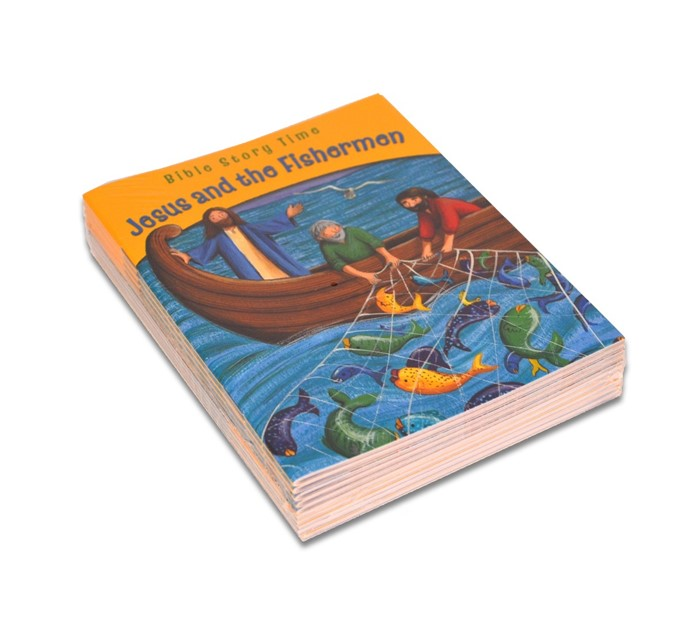Jesus and the Fishermen (pack of 10) (Multiple Copy Pack)