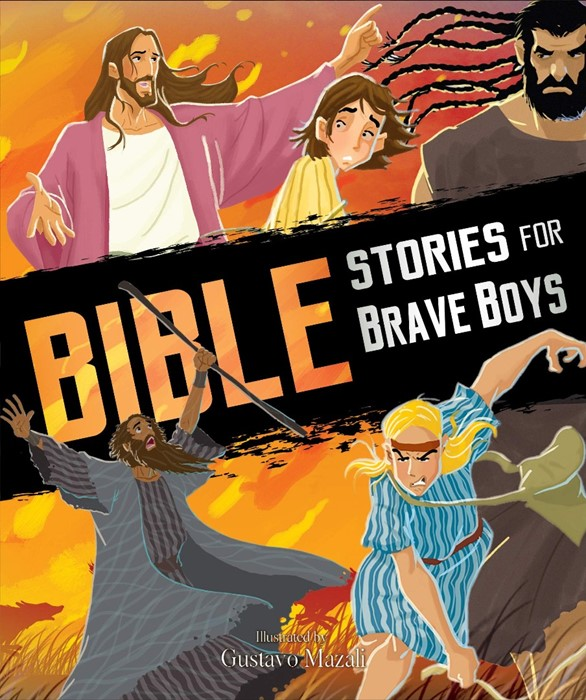 Bible Stories for Brave Boys (Paperback)