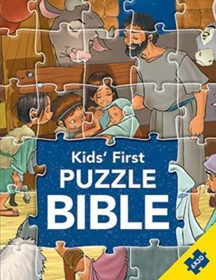 Kids' First Puzzle Bible (Hard Cover)
