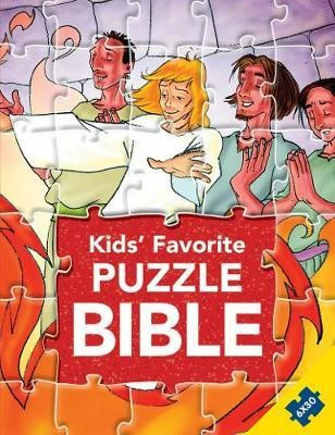 Kids' Favourite Puzzle Bible (Hard Cover)