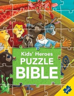 Kid's Heroes Puzzle Bible (Hard Cover)