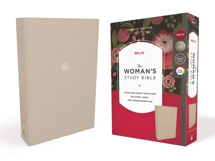 NKJV Woman's Study Bible, Cream (Cloth-Bound)