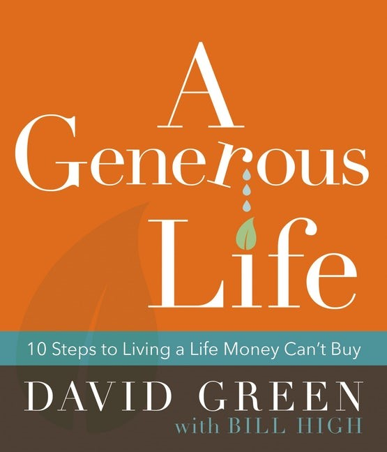 Generous Life, A (Hard Cover)
