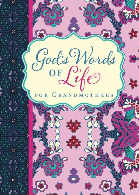 God's Words of Life for Grandmothers (Paperback)