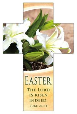 Easter The Lord is Risen Bookmark (pack of 25) (Bookmark)