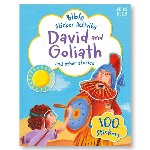 Bible Sticker Activity: David and Goliath (Paperback)